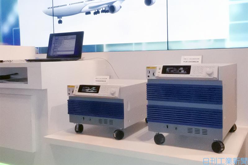 菊水電子工業の体積当たりの電力を約3倍に向上した交流安定化電源